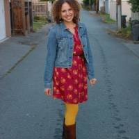 Feeling Fierce: Mustard Yellow Tights!