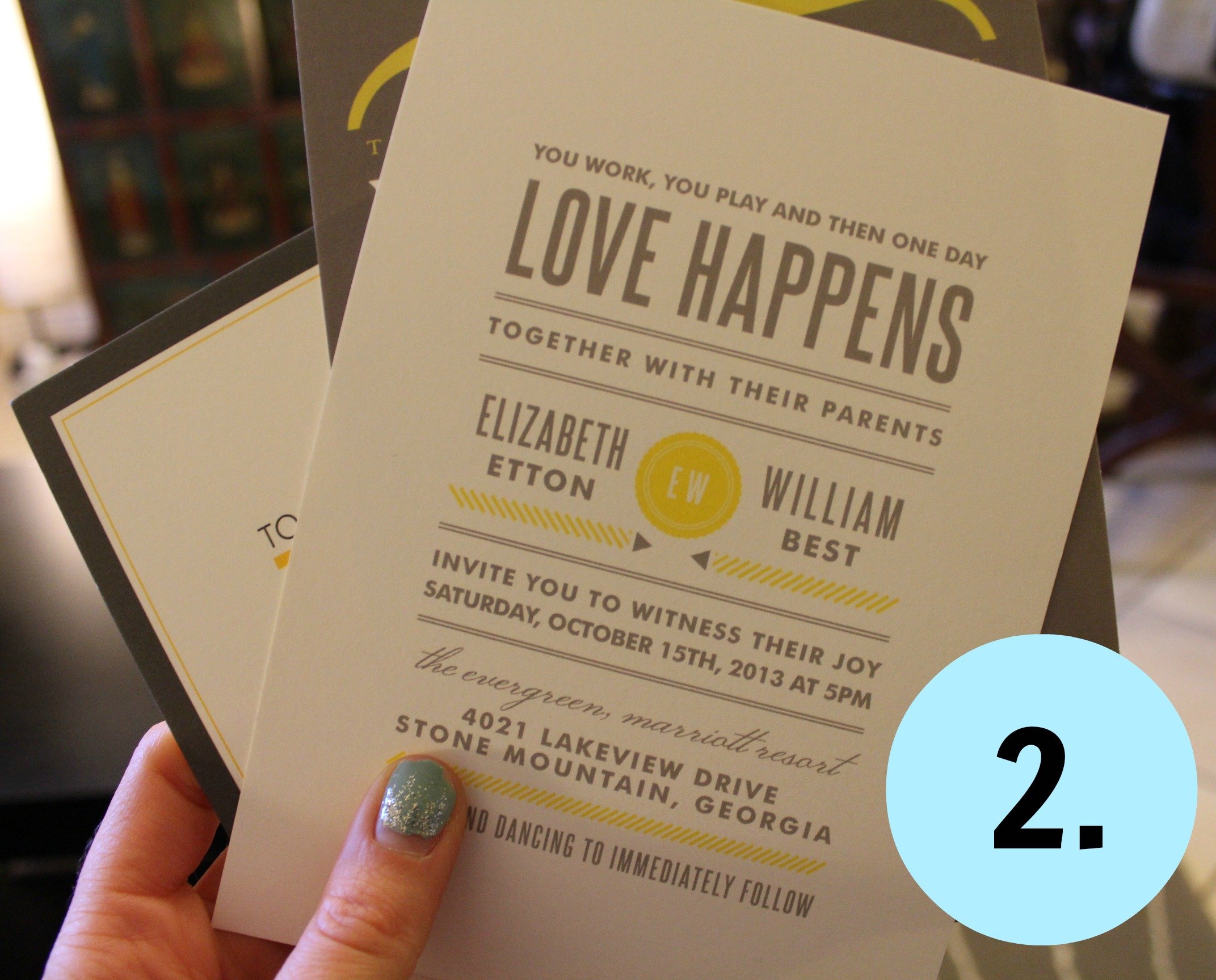 on the subject of… picking our wedding invitations | ashly & monkey