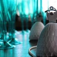 a breakfast at tiffany's themed bridal shower