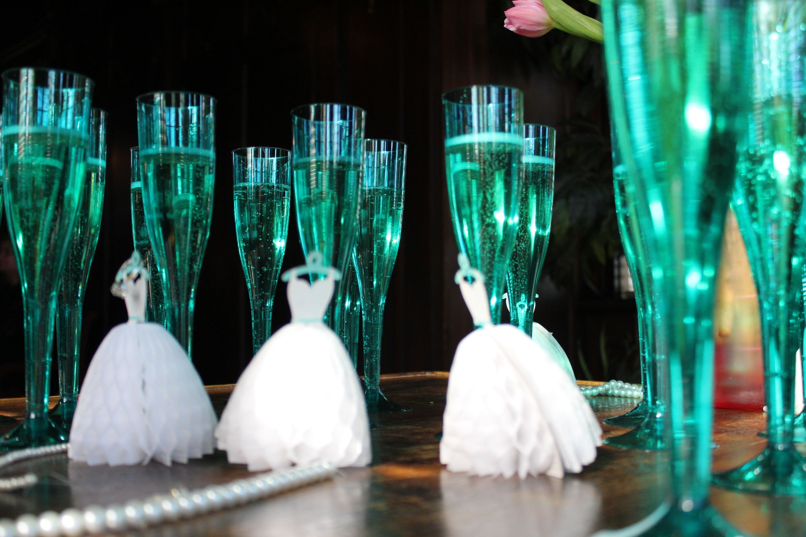 a breakfast at tiffanys themed bridal shower